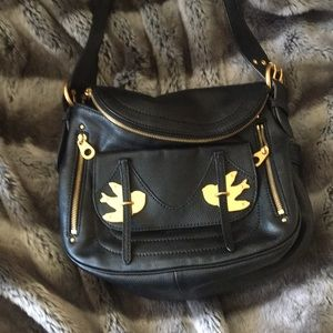 Marc Jacobs crossbody black leather purse